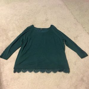 Size 3 Torrid Lace Sweater